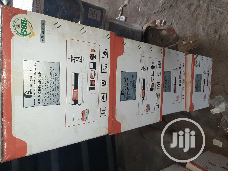 24V 3.5kva Felicity Solar Inverter | Solar Energy for sale in Ojo, Lagos State, Nigeria