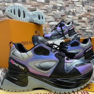 Virgil Abloh Louis Vuitton Men'S Spring 2 Reflective_type Purple Blck   Shoes for sale in Lagos State, Amuwo-Odofin
