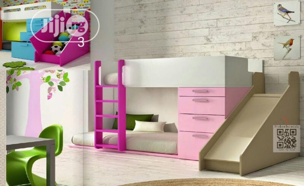 Picture of: Bunk Beds With Slide Steps For Cool Kids In Victoria Island Children S Furniture Noker Furnish Jiji Ng