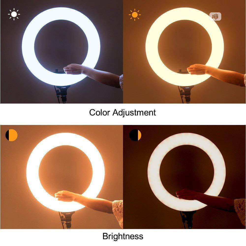 Ring Light 18 Inches Universal Dimmable Ring Light | Accessories & Supplies for Electronics for sale in Oshodi-Isolo, Lagos State, Nigeria