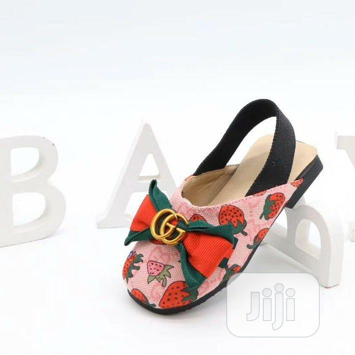 Kiddies Gucci Branded Sandals