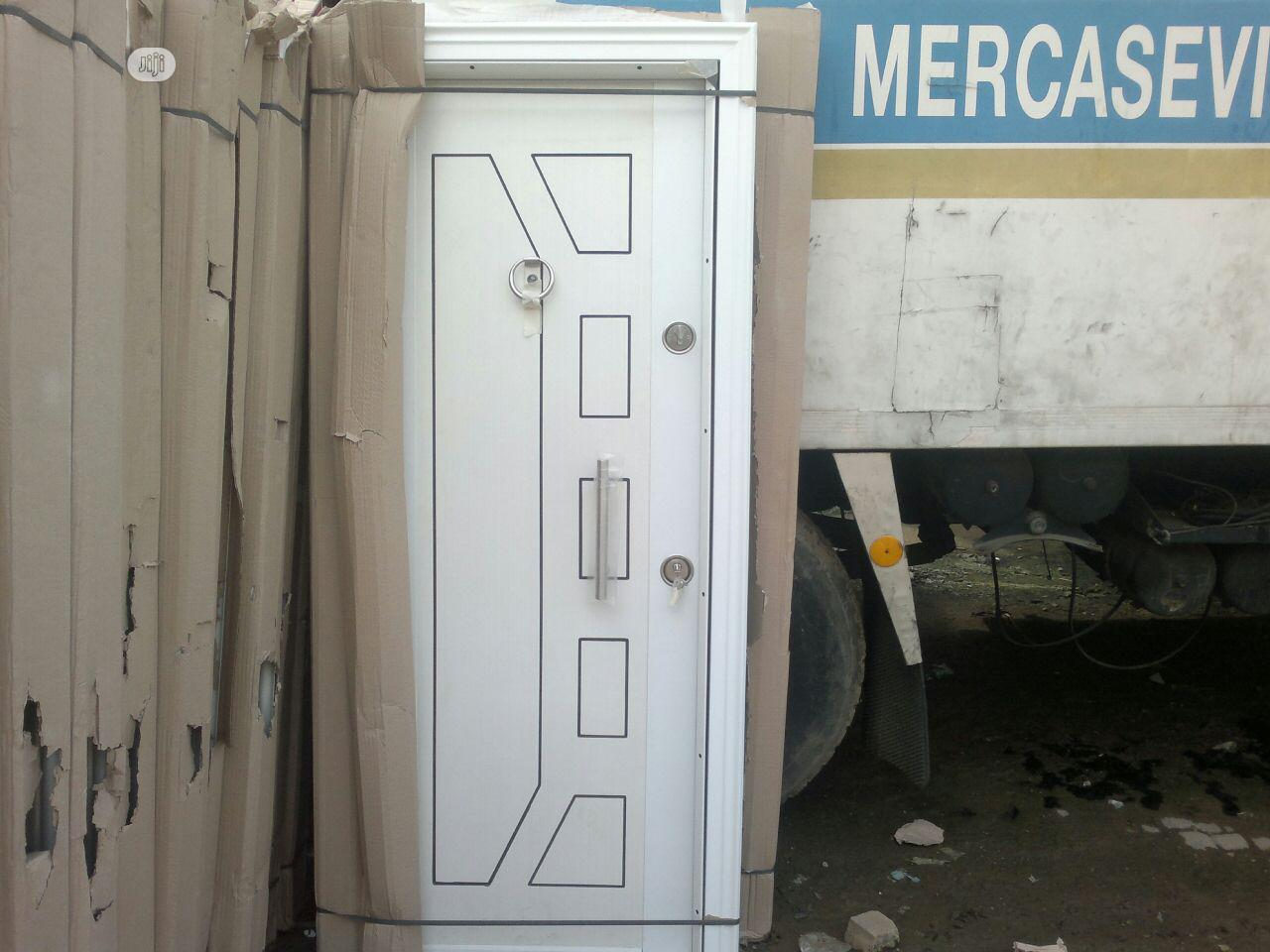 3ft White Iron Turkey Doors Available   Doors for sale in Orile, Lagos State, Nigeria