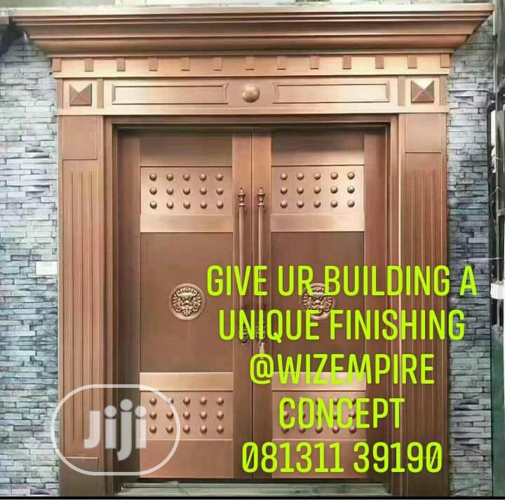 5ft Copper Doors Available