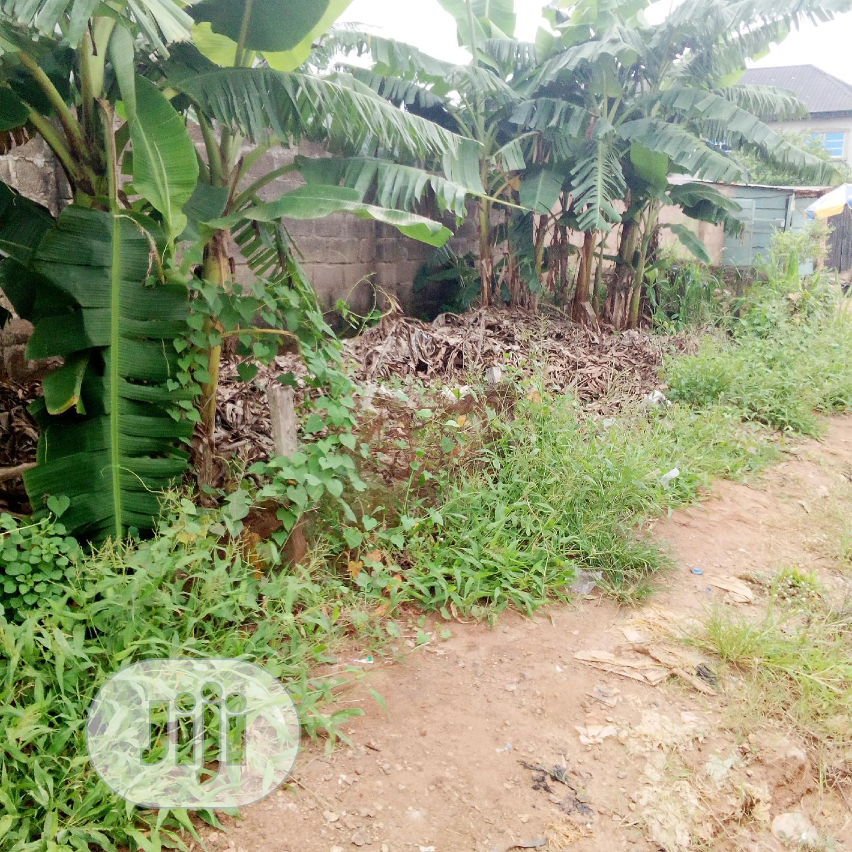 Half Plot Of Land At Mercy Land Estate Ipaja