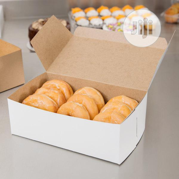 Archive: Donuts And Snacks Food Packaging Box
