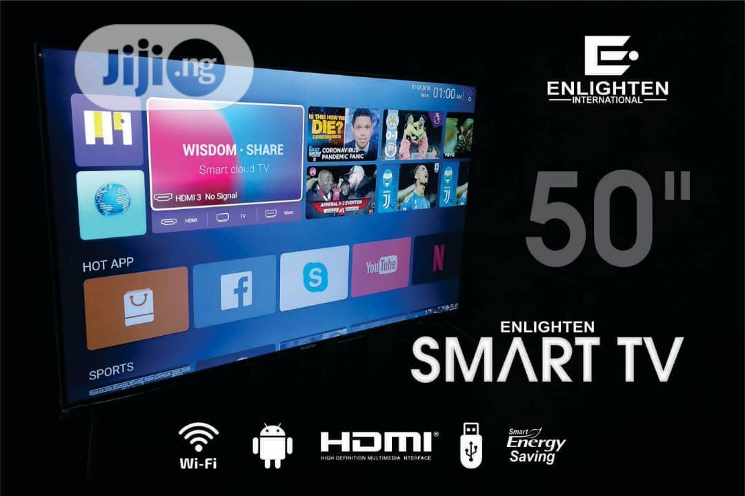Archive: PROMO SLASH ON Enlighten Africa Branded 4k 50inches Smart Tv