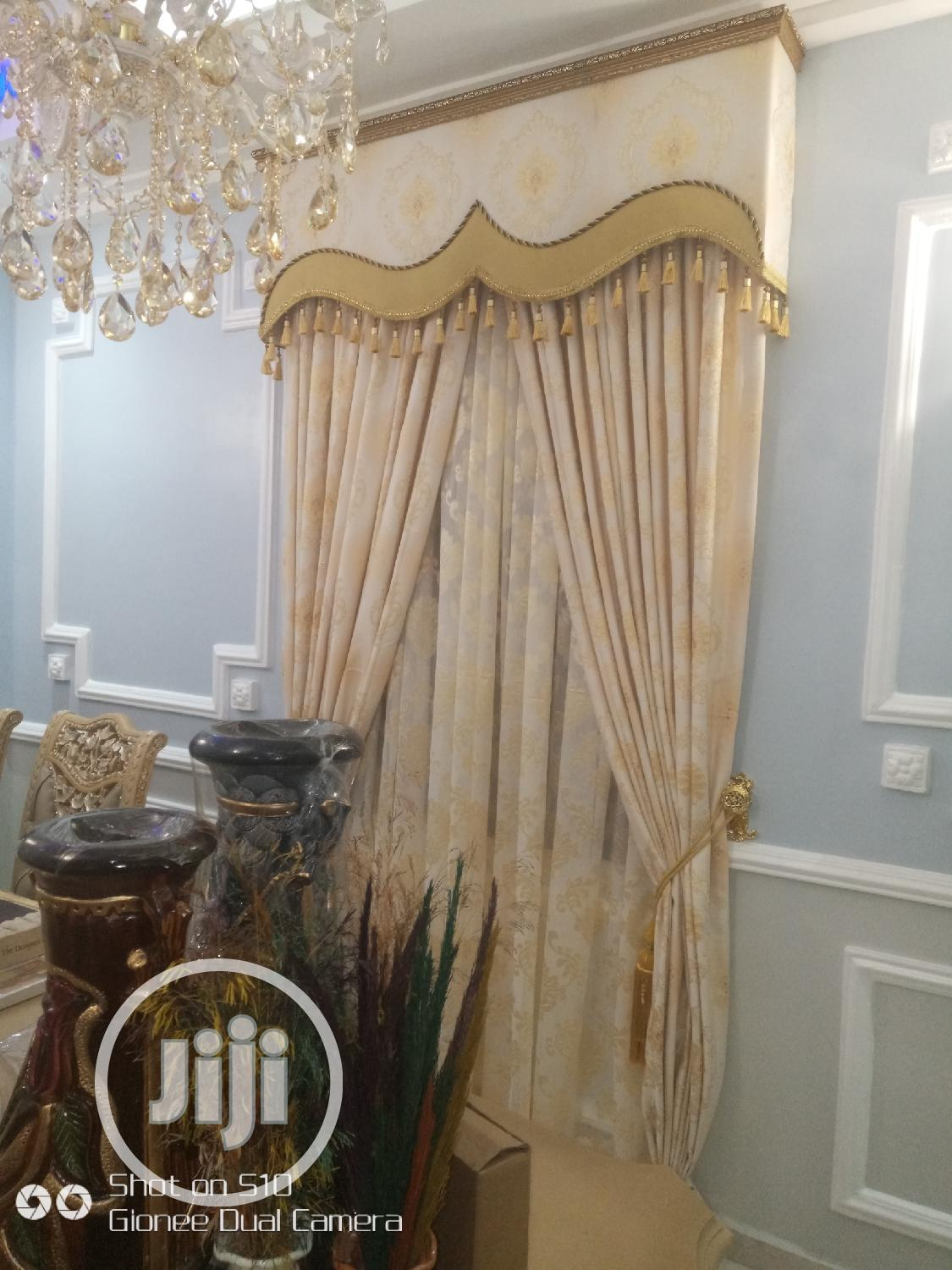 Italian Latest Curtain Design New | Home Accessories for sale in Lagos Island, Lagos State, Nigeria