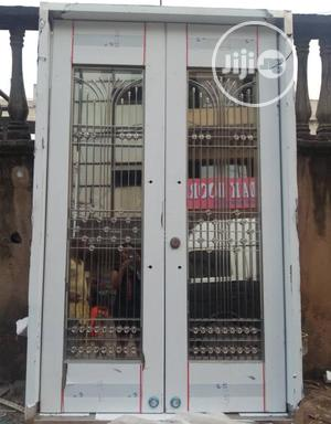 5ft Stainless Glass Door Available | Doors for sale in Lagos State, Orile
