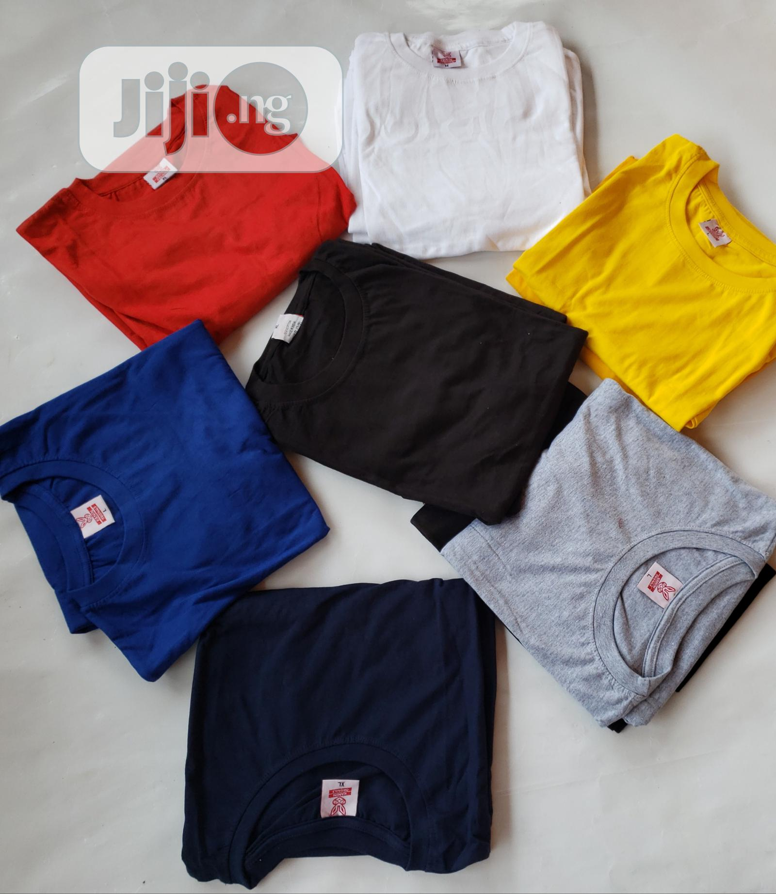 Archive: Plain Tees