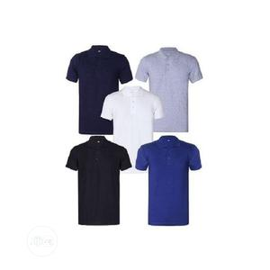 Five Blank Cotton Polo - Multicolour | Clothing for sale in Lagos State, Alimosho