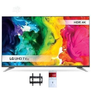 "LG 55"" 4K Uhd LED TV + Magic Remote & Wall Bracket &TV Surge   TV & DVD Equipment for sale in Lagos State, Lekki"