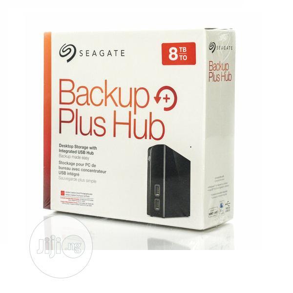 Seagate 8tb Backup PLUS Hub USB 3.0 Desktop External Hard Drive