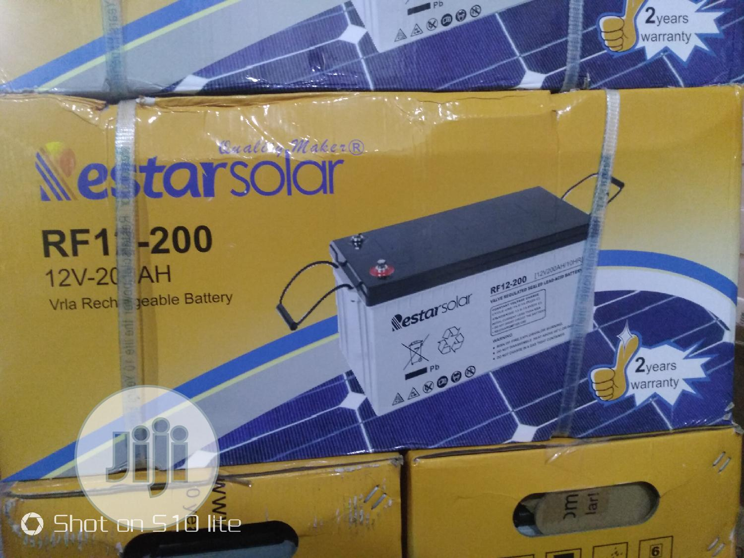 Original Powerful Solar Battery 200amps