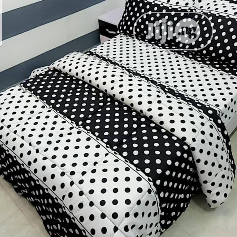 6x6 Duvet, Bedsheet With 4 Pillow Cases