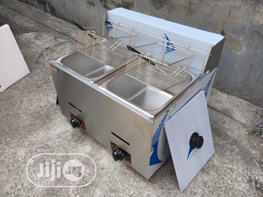 Archive: Industrial Deep Fryer Double Basket Available