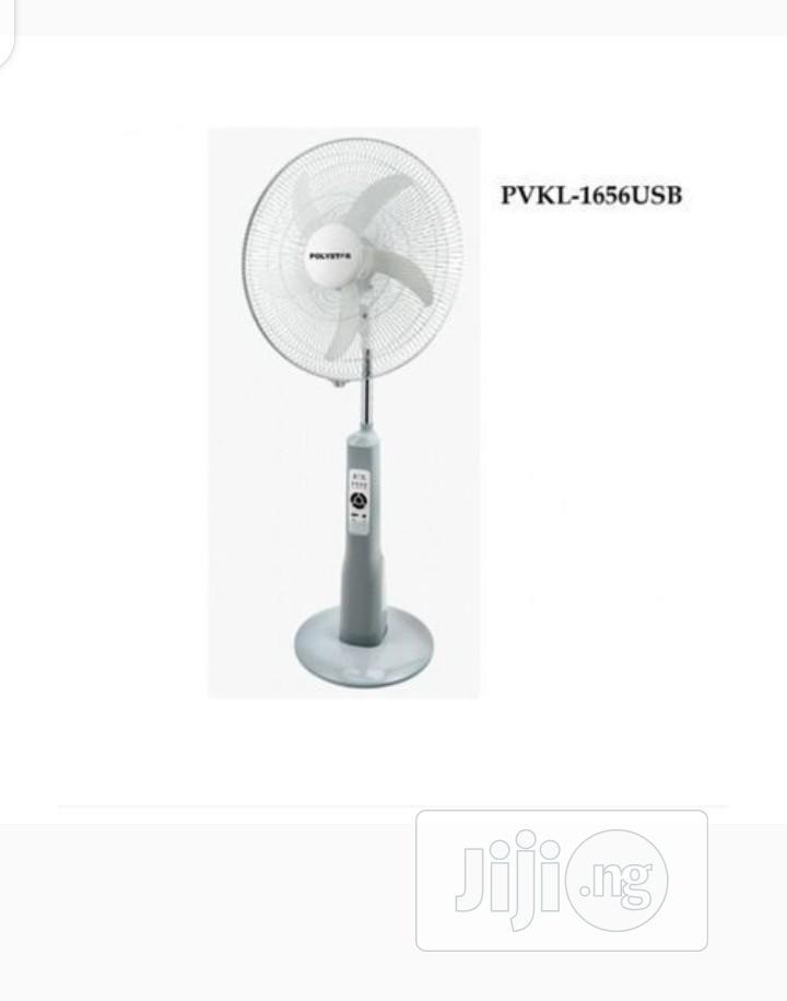 Polystar Rechargeable Fan: PVKL-2416USB