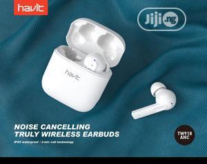 TW918 Waterproof Active Noise Reduction Havit Earbuds   Headphones for sale in Lagos State, Ikeja