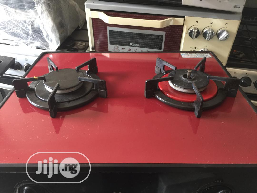 Uk Used Table Gas Cooker Without Oven 2burnners