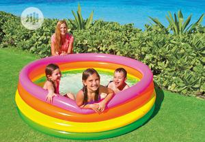 Inflatable Kids Swimming Pool With Pump | Sports Equipment for sale in Lagos State, Ikeja
