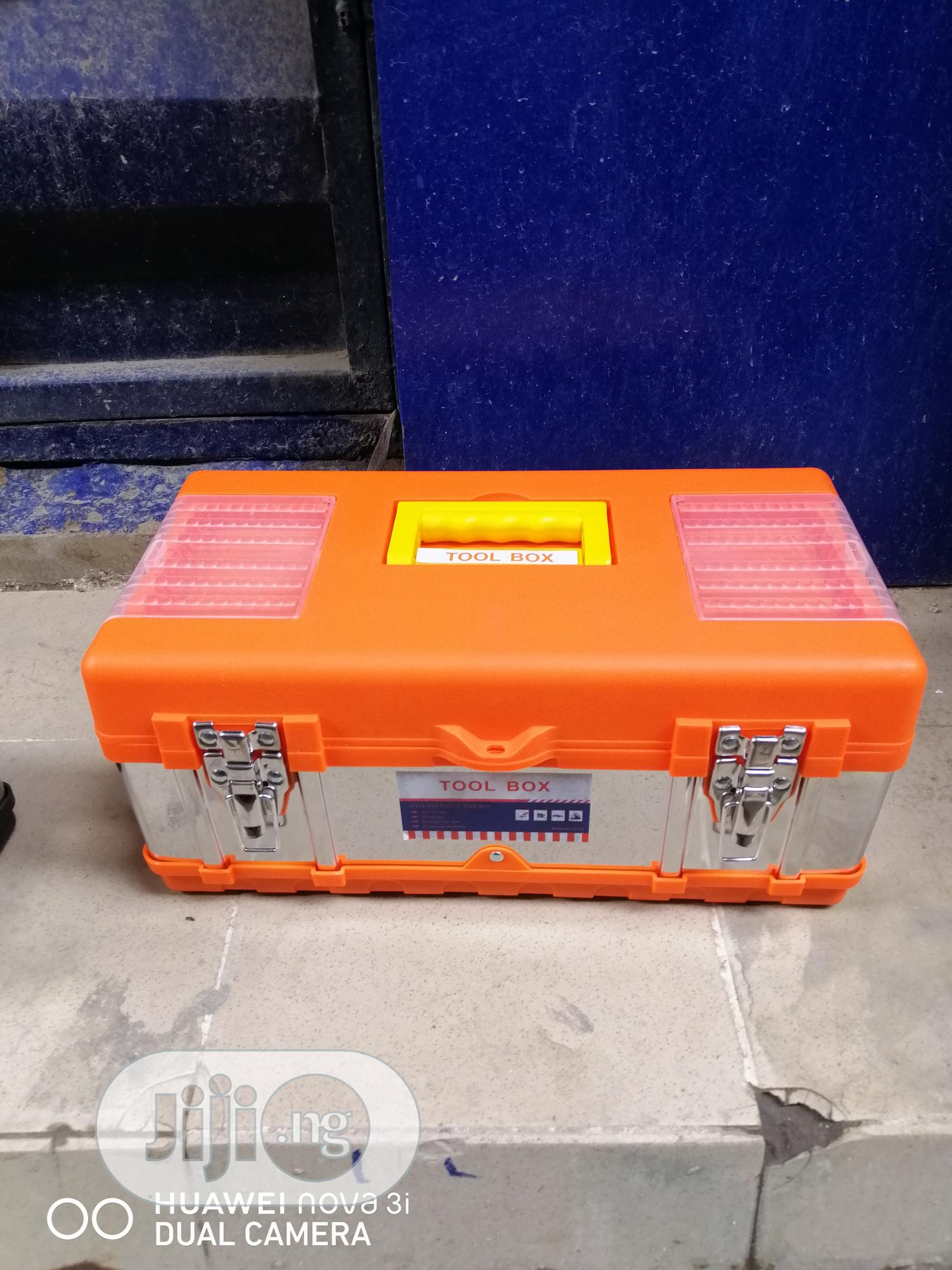 Empty Tools Box 19 Inches
