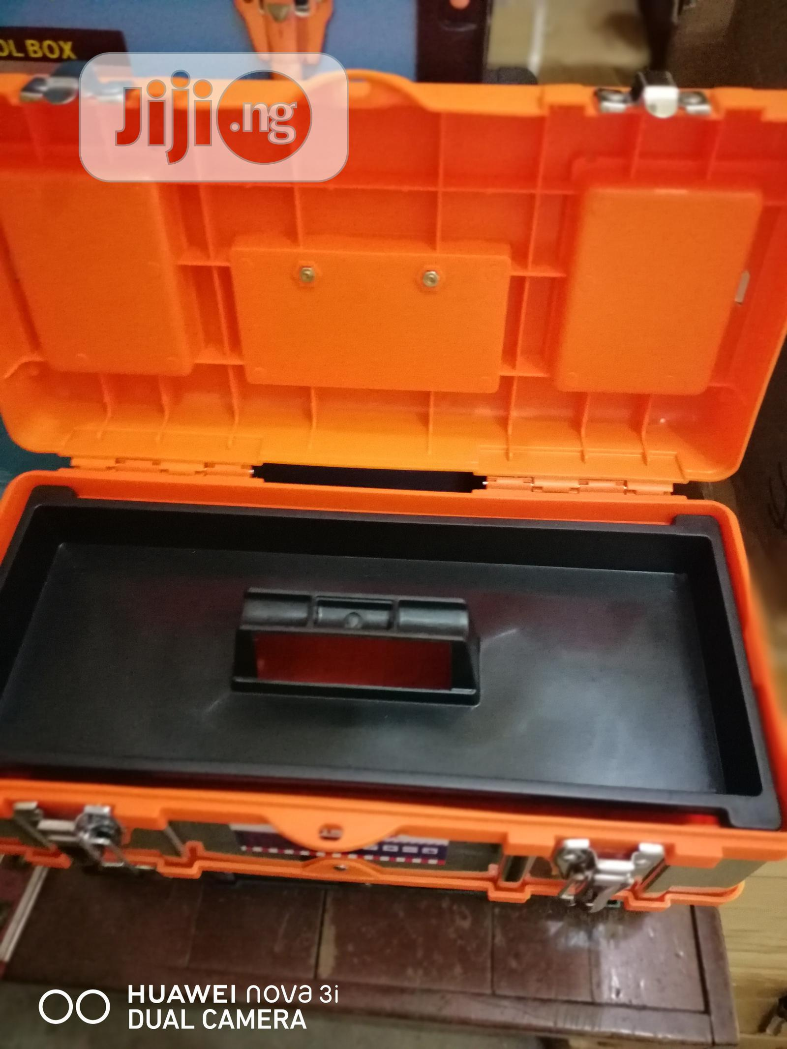 Empty Tools Box 17 Inches | Hand Tools for sale in Amuwo-Odofin, Lagos State, Nigeria