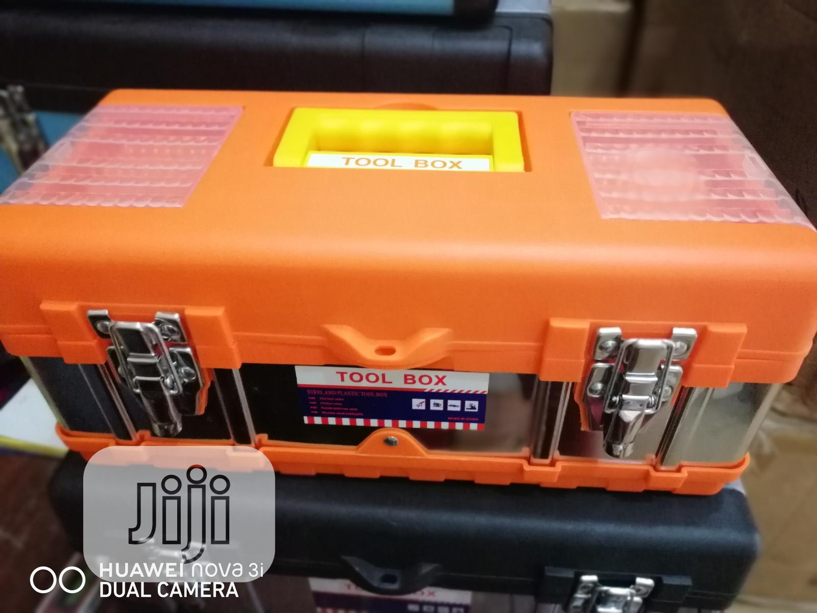 Empty Tools Box 17 Inches