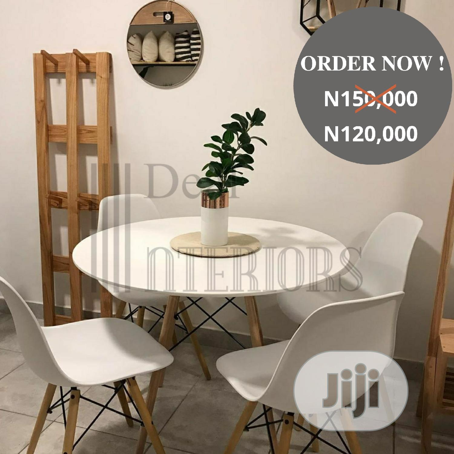4 Seater Dining Set | Furniture for sale in Yaba, Lagos State, Nigeria