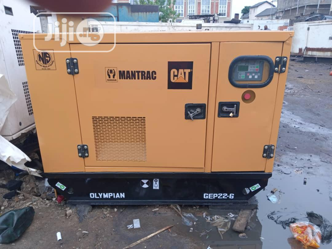 22kva Mantrac Caterpillar Diesel Generator Perkins | Electrical Equipment for sale in Ikeja, Lagos State, Nigeria