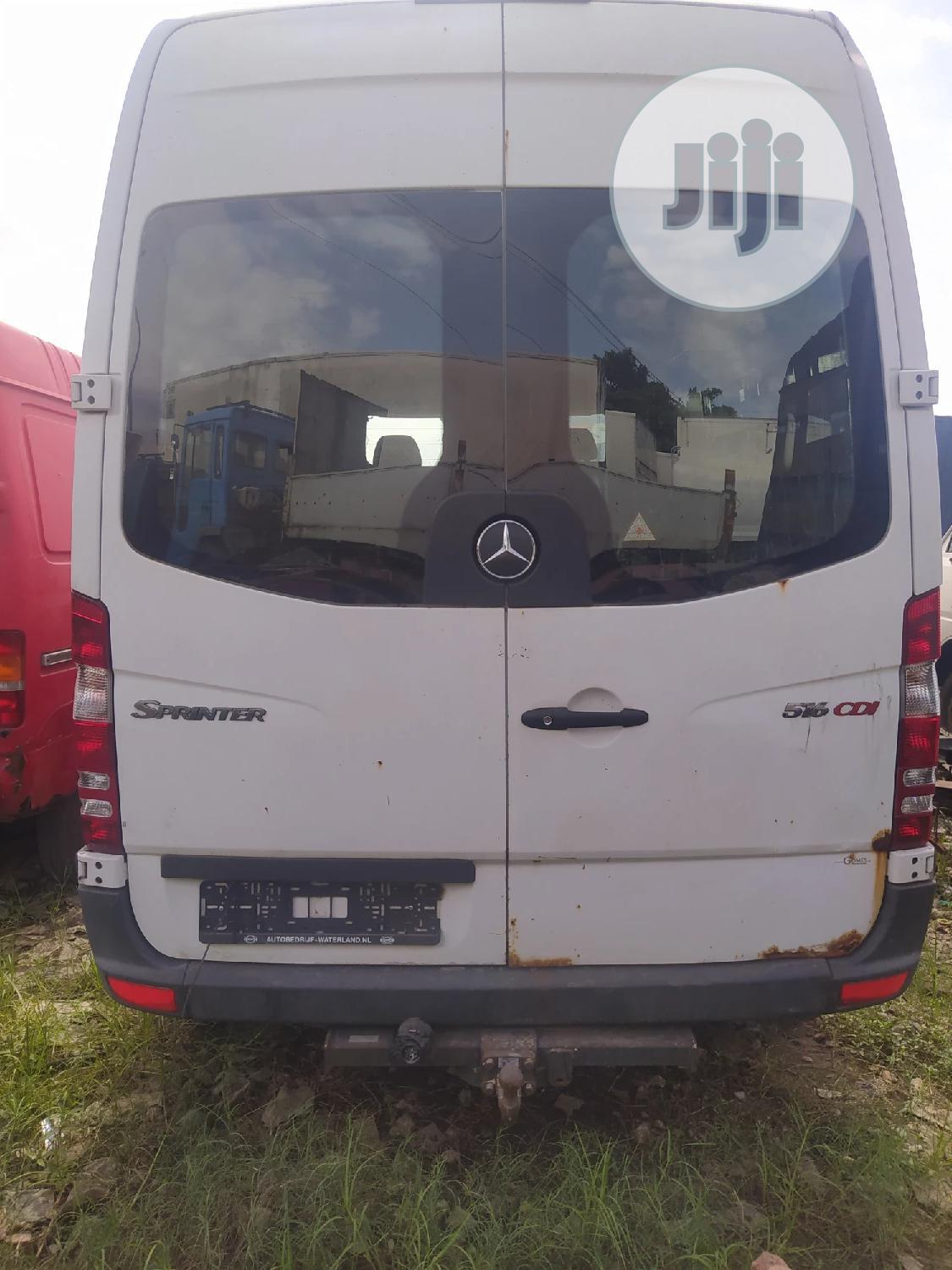 Tokunbo Mercedes Sprinter Bus With Diesel Engine And Container Body. | Buses & Microbuses for sale in Apapa, Lagos State, Nigeria