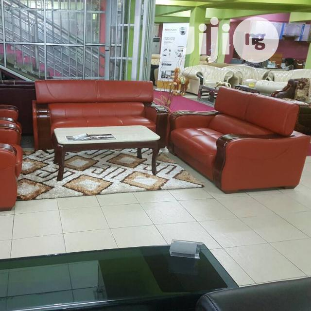 Unique And Quality Foreign Leather Sofa Chair By 7 Seaters