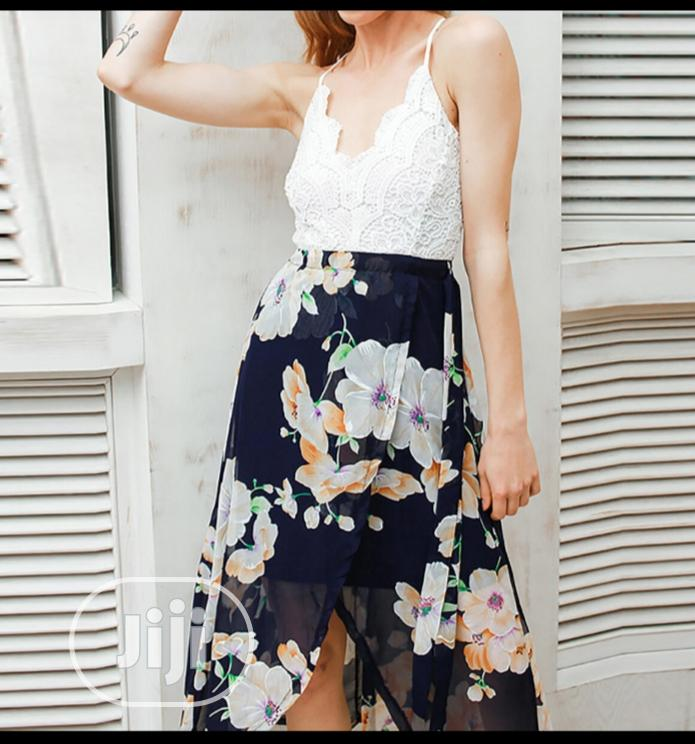 Floral Print Dress | Clothing for sale in Amuwo-Odofin, Lagos State, Nigeria