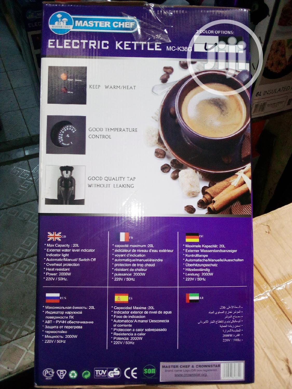 Electric Kettle | Kitchen Appliances for sale in Lagos Island, Lagos State, Nigeria