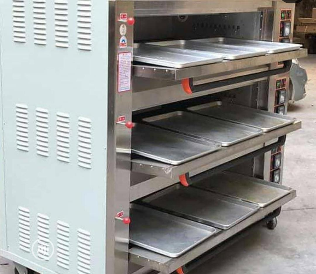Archive: 3 Deck 9trays Gas Baking Oven