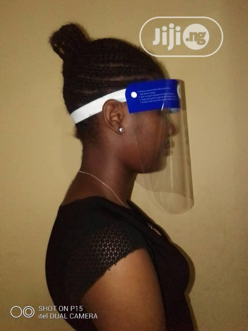 Reusable Anti Droplets Face Shield ( Bulk N Retail) | Safety Equipment for sale in Surulere, Lagos State, Nigeria