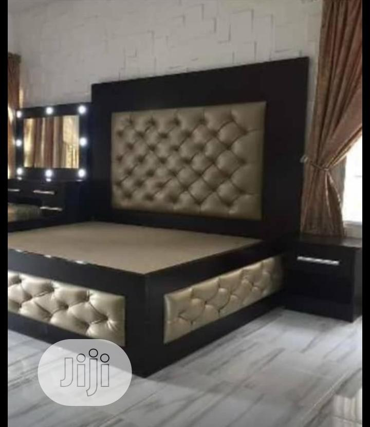 Archive: Modern Royal Bed Frame With 2 Side Bed Drawer As Dressing Mirror