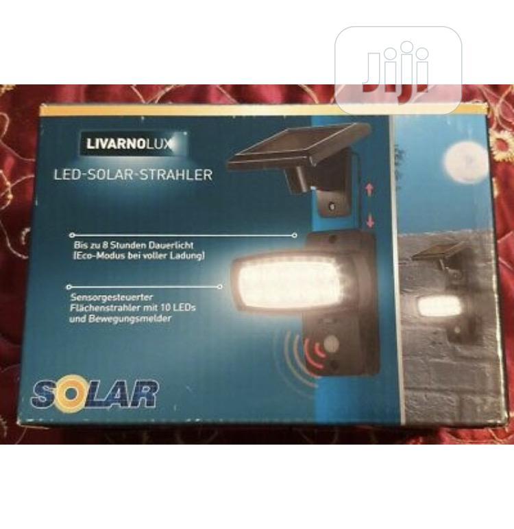 LED SOLAR Spotlight With Motion Detector, NEW! | Solar Energy for sale in Lagos Island (Eko), Lagos State, Nigeria
