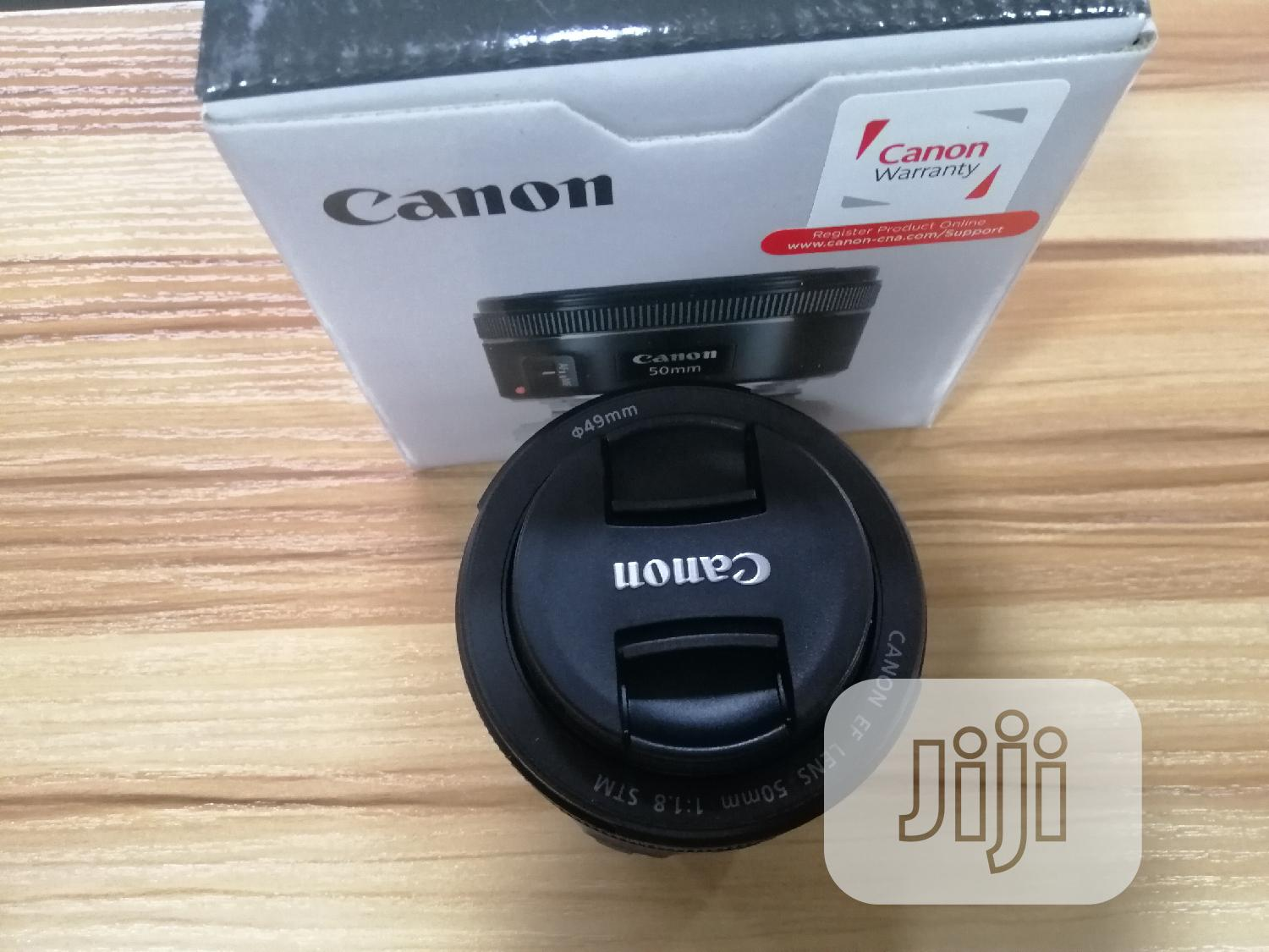 Canon EF 50mm F/1.8 STM Lens | Accessories & Supplies for Electronics for sale in Ikeja, Lagos State, Nigeria