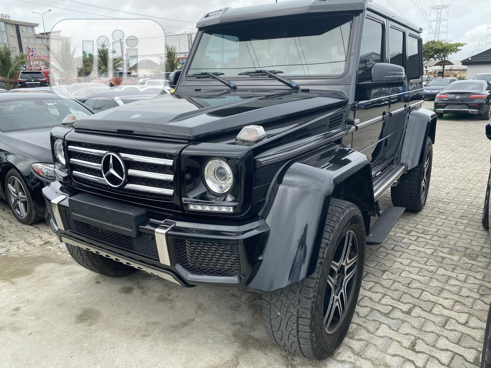 Archive New Mercedes Benz G Class 2016 Black In Lekki Cars Wechue Autos Jiji Ng