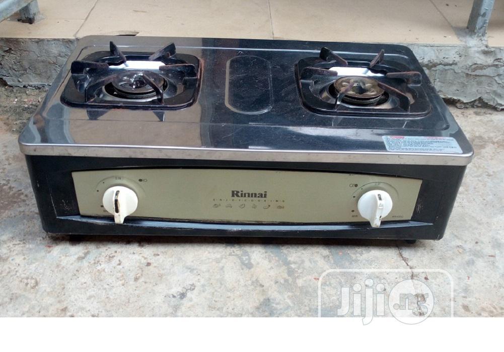 Tokunbo 2 Burner Gas Cooker