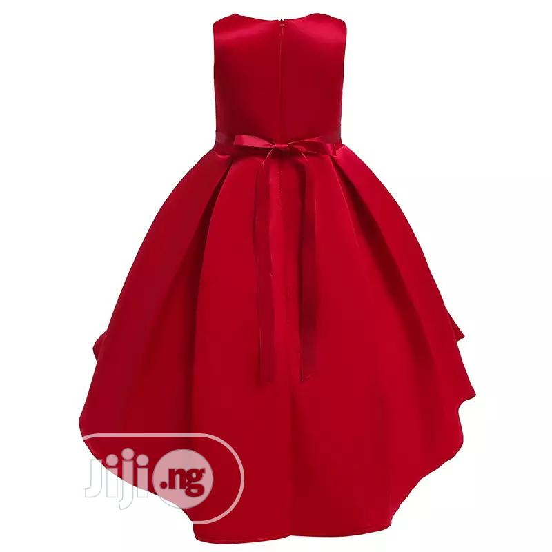 Golden Red Princess Dress | Children's Clothing for sale in Dei-Dei, Abuja (FCT) State, Nigeria