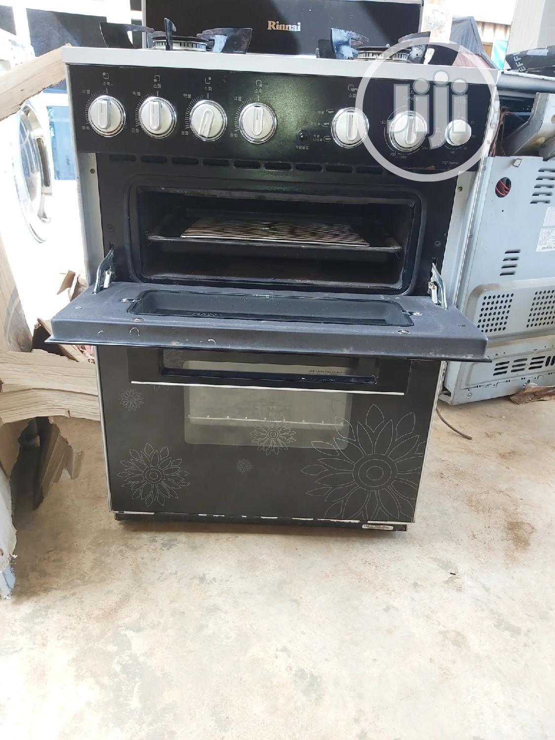 4 Burner Gas Cooker With Oven And Grill   Kitchen Appliances for sale in Ikorodu, Lagos State, Nigeria