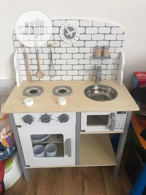 Wooden Toy Kitchen Set For Your Adorable Children | Toys for sale in Lagos State, Lekki
