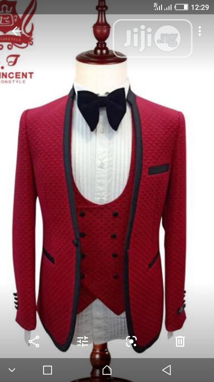 Archive: St Vincent Three Piece Suit Design. Jacket, Waistcoat and Trousers