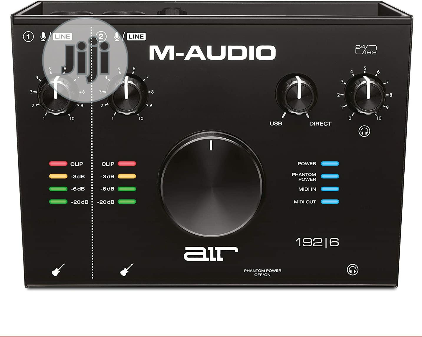 M-audio AIR 192|6 Audio / MIDI Interface (Plus Recording Software) | Audio & Music Equipment for sale in Ojo, Lagos State, Nigeria