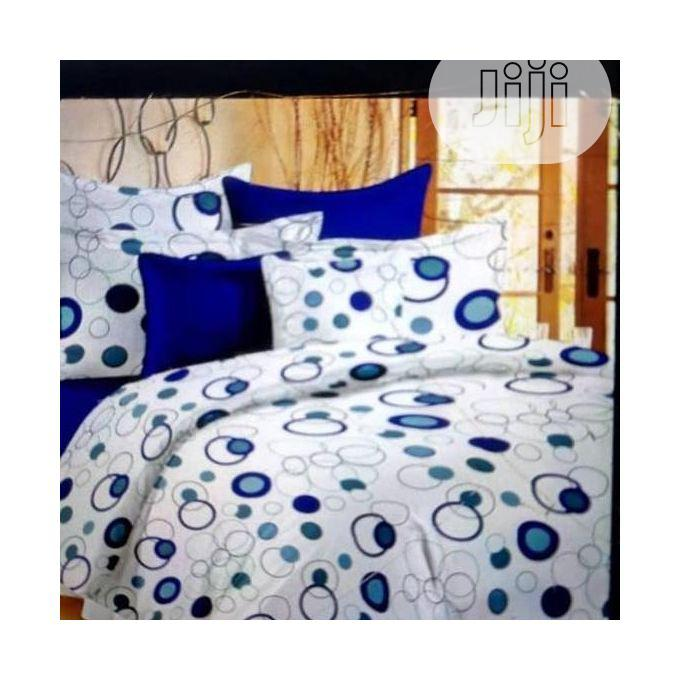Quality 7X7 Duvet,Bedsheet With 4 Pillow Cases