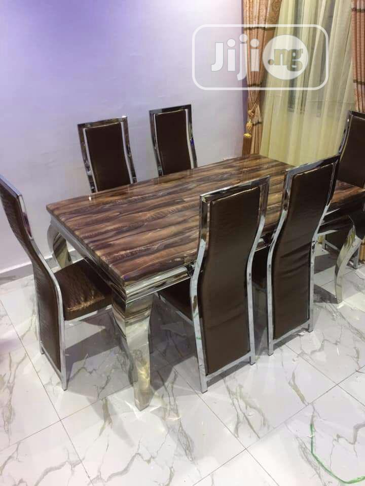 Set Of Marble Dining Table
