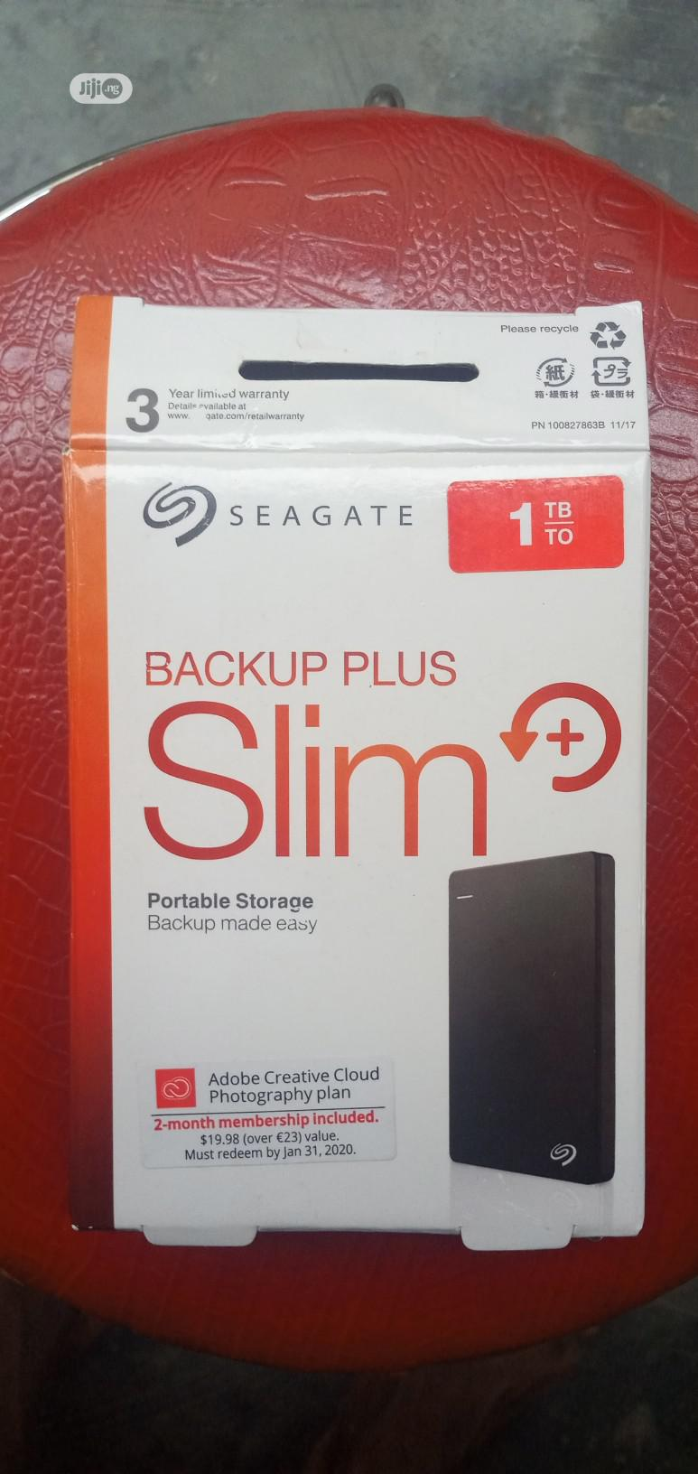 Archive: Seagate BACKUP SLIM 1TB