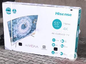 Hisense 55 Inches Curve 7 Series | TV & DVD Equipment for sale in Lagos State, Alimosho
