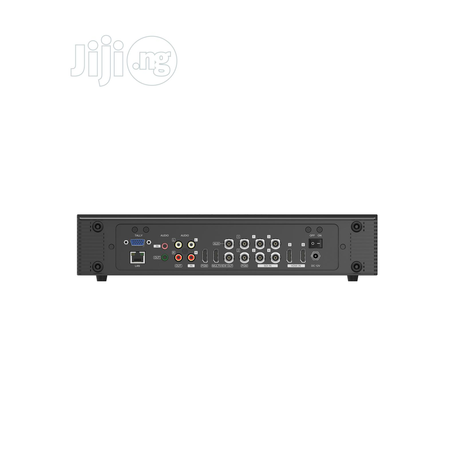 Portable 6 Channel Mini Multi-format Video Switcher | Accessories & Supplies for Electronics for sale in Central Business Dis, Abuja (FCT) State, Nigeria