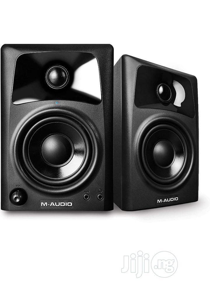M-Audio AV32   Compact Active Desktop Reference Studio Monitor Speaker   Audio & Music Equipment for sale in Ojo, Lagos State, Nigeria